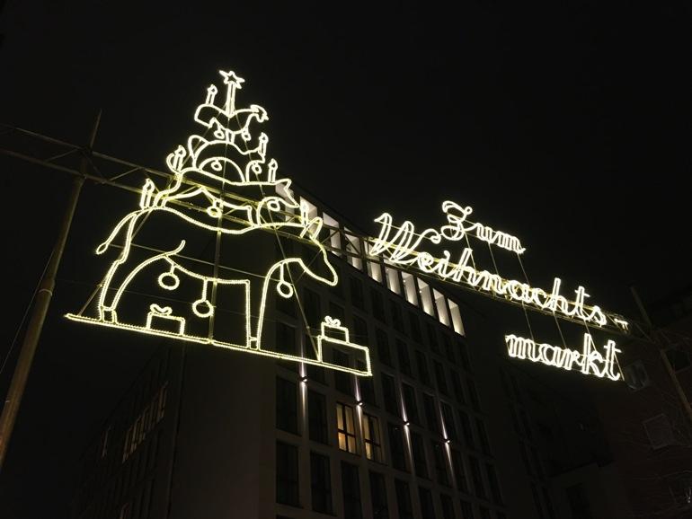 Kerstmarkt in Bremen