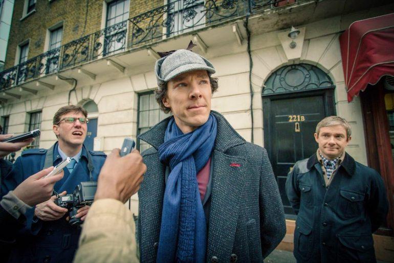 BBC Sherlock in Londen