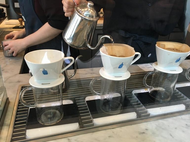 Koffie en ontbijt in San Francisco