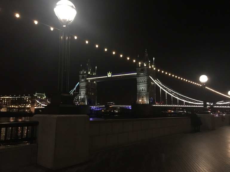 Londen met kerst