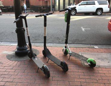 Elektrische stepjes citytrip