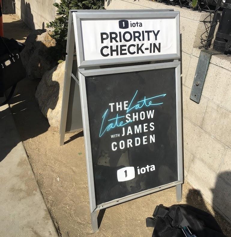 Tv-show bijwonen in Los Angeles: James Corden