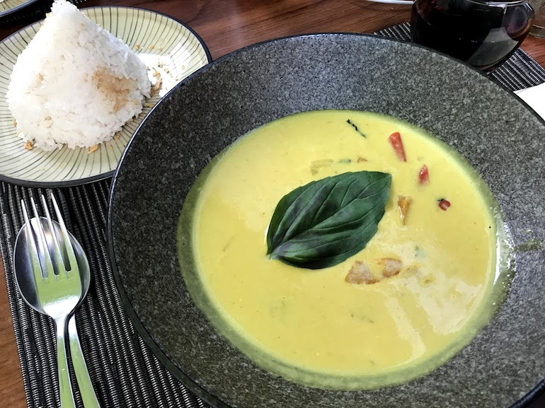 Curry bij Green Buddha