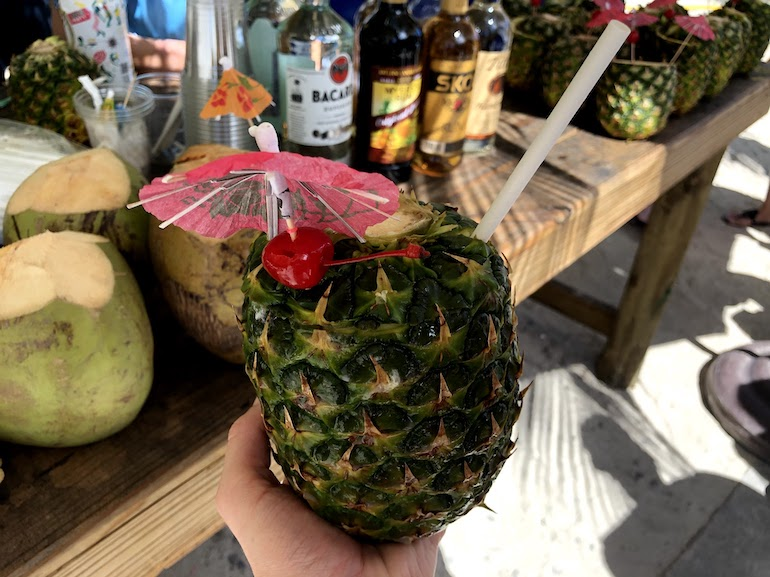 Cocktail op Labadee