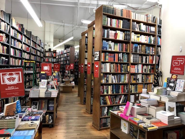 Boekwinkels in New York